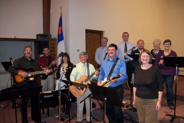 Stones of Praise Band at 8:30 Service